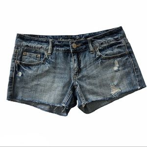 American Eagle Distressed Jean Shorts 6